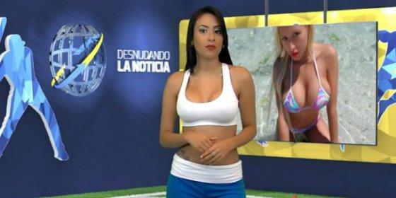 Los desnudos de la presentadora que se desnudó por Cristiano Ronaldo