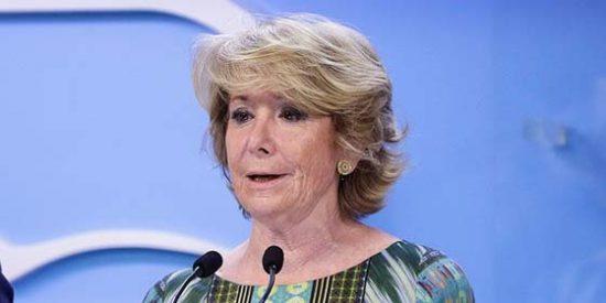 El Mundo y El País entierran a Aguirre como jefa del PP de Madrid