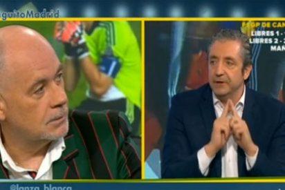 """Josep Pedrerol le cierra la boca a un 'crecido' Alfredo Duro: """"Yo sé lo que quiere Casillas, y no tú"""""""