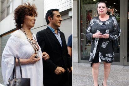 Numerosos rostros conocidos quisieron despedir a Marujita Díaz