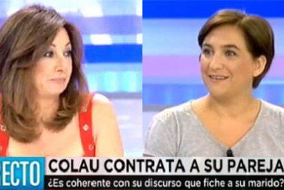 """Ana Rosa sobre el novio enchufado de Ada Colau: """"Yo confío mucho en mi marido, pero no le paga Vasile un sueldo"""""""