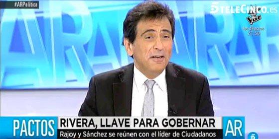 """Arcadi Espada bromea con los posibles pactos del partido de Rivera: """"Ciudadanos es bisexual"""""""