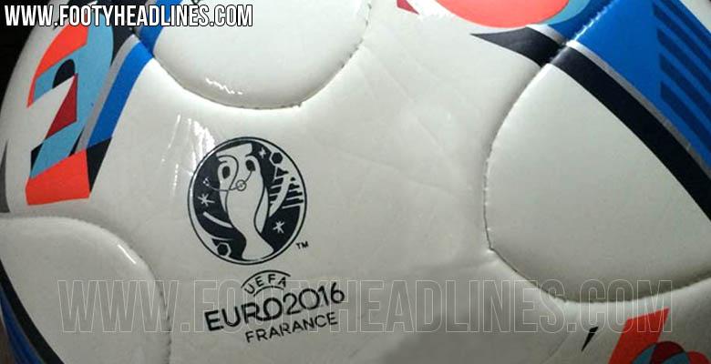 Así será el balón de la Eurocopa de 2016