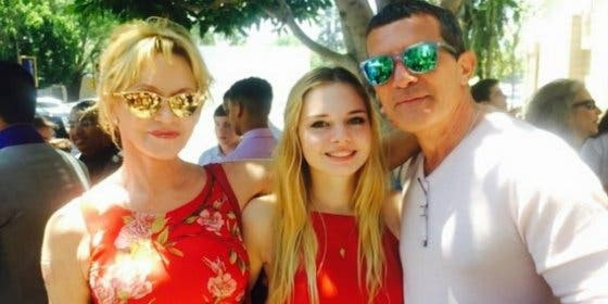 Antonio Banderas y Melanie Griffith, juntos por vez primera desde su divorcio