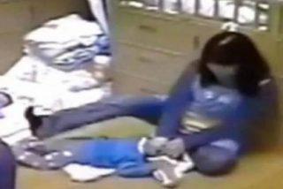 Con esta frialdad mata la empleada de una guardería a un bebé... para que haga la siesta