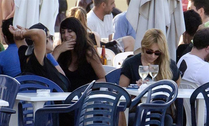 Berta Collado disfruta de Ibiza
