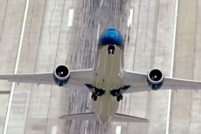 [Vídeo] El despegue casi en vertical del nuevo avión de pasajeros Boeing 787-9 Dreamliner