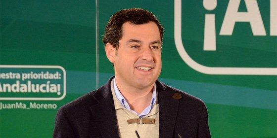 Moreno quiere impulsar la voz de los jóvenes en el Parlamento de Andalucía