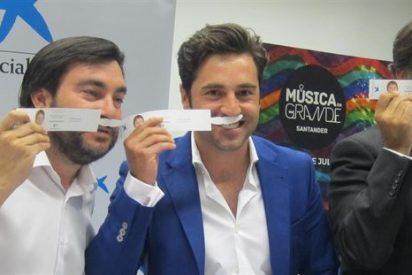 Bustamante recaudará fondos para repartir leche entre los niños cántabros con un concierto en el Música en Grande
