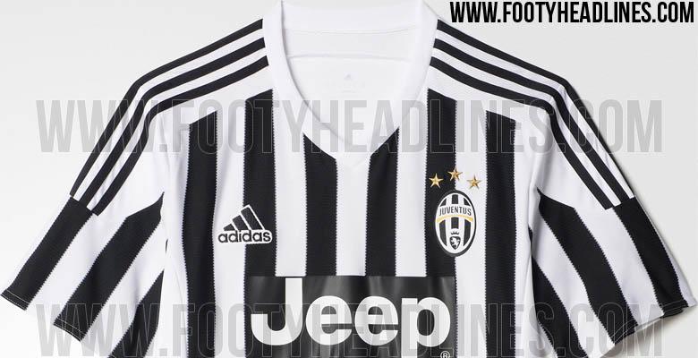 Así es la nueva camiseta de la Juve