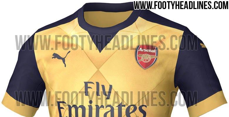 La sorprendente segunda camiseta que lucirá el Arsenal la próxima temproada