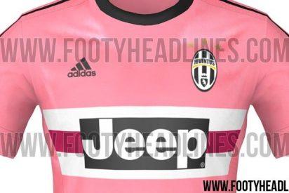 La Juventus deja a todos boquiabiertos con su segunda equipación