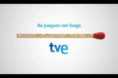 """""""No juegues con fuego"""", la campaña de TVE Medalla de Plata en los Eurovision Connect Awards"""