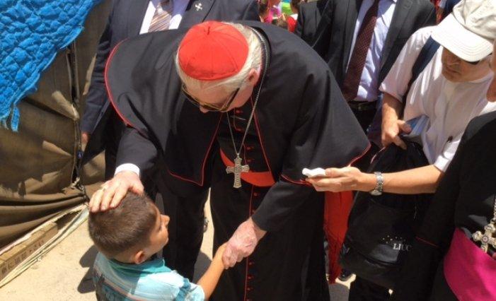 El cardenal Scola pide un corredor humanitario en la ciudad siria de Alepo