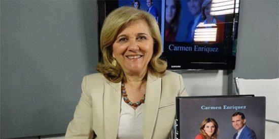 """Carmen Enríquez: """"Es incomprensible que la infanta Cristina no haya reconocido el inmenso daño que ha hecho a la Familia Real"""""""