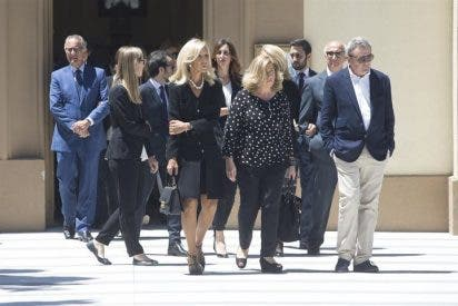 Carmen Lomana da el último adiós a su madre