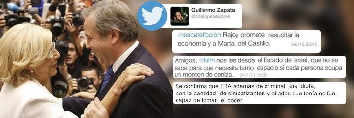 """Salvador Sostres: """"Los judíos en un cenicero y la pierna de repuesto de Irene Villa es el precio que ha pagado el PSOE"""""""