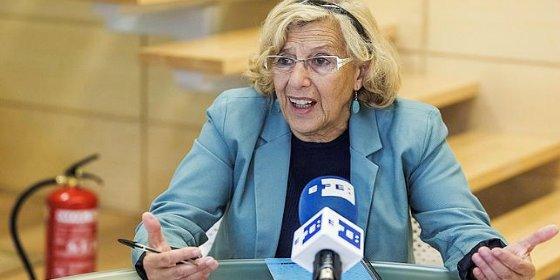 La alcaldesa Carmena podría 'echar' a Griezmann del Atlético