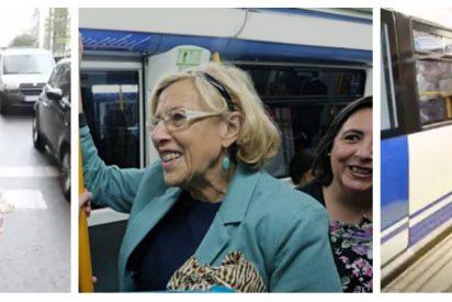 Narváez desinfla el espectáculo populista de Carmena: se bajó del metro y se subió a un taxi