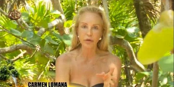 "Carmen Lomana abre la caja de Pandora: ""Yo no tengo las adicciones de Carmen Gahona"""