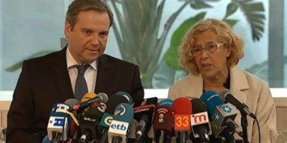 """Carmona recuerda que """"Tamayo no va en las listas"""" y Carmena no cree que sea necesario mostrar el voto"""
