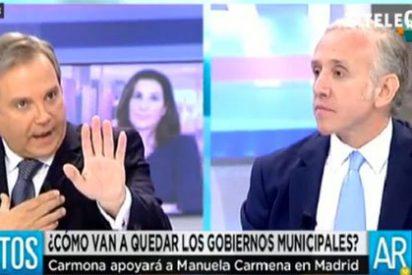 """Inda vacila al candidato del PSOE en Madrid: """"Carmena-Carmona, ¡ya es lo mismo!"""""""