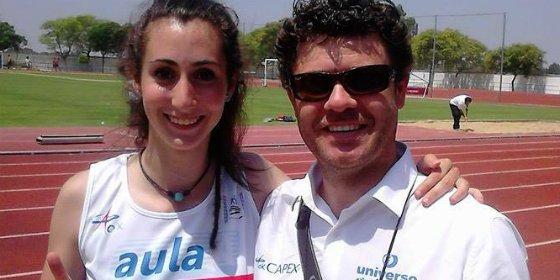 Carolina Ortiz, del Capex, consigue el récord de Extremadura Absoluto en 100m vallas