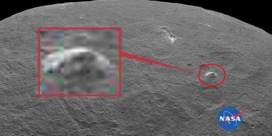 La NASA descubre otra inquietante 'pirámide extraterrestre'... esta vez en el planeta Ceres