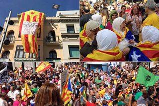 'Aquelarre' independentista en Badalona con el aval del PSC y entusiamo magrebí