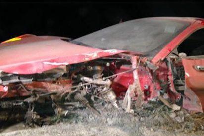 El chileno Vidal destroza su Ferrari tras sufrir un accidente por conducir ebrio