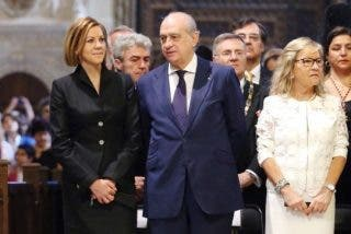 María Dolores Cospedal asiste al Corpus como presidenta de Castilla-La Mancha pero sin mantilla