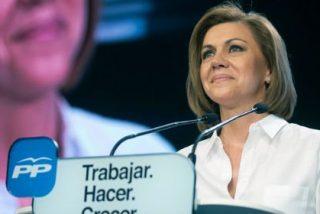 """Cospedal, presidenta de Castilla-La Mancha en funciones: """"La obligación de los gobernantes es dejar las cosas mejor"""""""