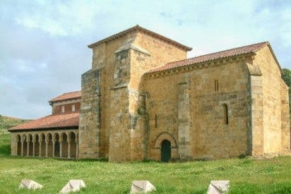 Mansilla de las Mulas / Iglesia del monasterio de San Miguel de Escalada