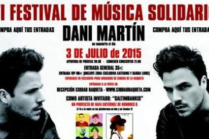 Dani Martín, gran estrella del Festival de la Raqueta 2015