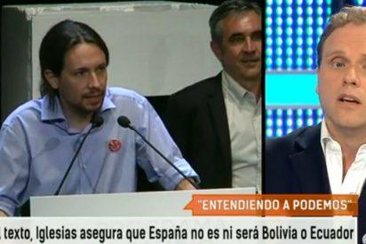 """Daniel Lacalle arremete contra las medidas del """"niño malcriado"""" Pablo Iglesias: """"Si no me das lo que quiero, dejo de respirar"""""""