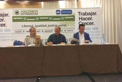 Fragoso anima a seguir trabajando en los municipios de Badajoz