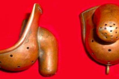 El cinturón de castidad masculino para castigar la masturbación es cosa de curas