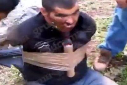 México: El momento en que el jefe de los narcos del Cártel Jalisco dinamita a narcos de la competencia