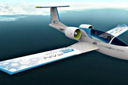 Airbus asombra al mundo con el 'e-fan', un avión totalmente eléctrico