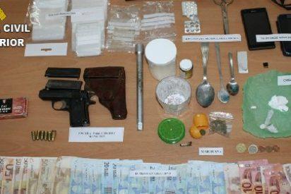 La Guardia Civil desarticula dos puntos de venta de droga en Las Hurdes y Sierra de Gata