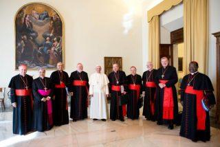 El Papa se reúne con el G-9 vaticano