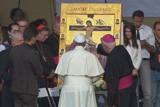 """El Papa a los jóvenes de Turín: """"En este mundo hedonista, donde sólo se publicita el placer, os digo sed castos, sed castos"""""""