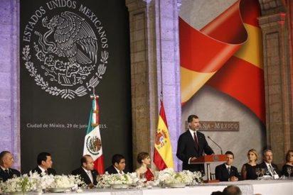 Felipe VI y Letizia, cena de gala en México