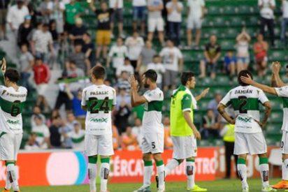La Liga confirma el descenso del Elche a Segunda División