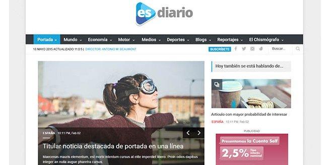 El Semanal Digital y Edigrup lanzarán ESdiario