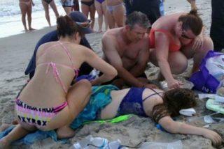 Los tiburones que han dejado sin brazos a dos menores en una playa