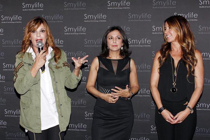Numerosos rostros conocidos se dieron cita en el V aniversario de Smylife
