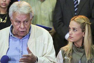 Felipe González deja Caracas al no ser autorizado por los chavistas a ver al preso opositor Leopoldo López