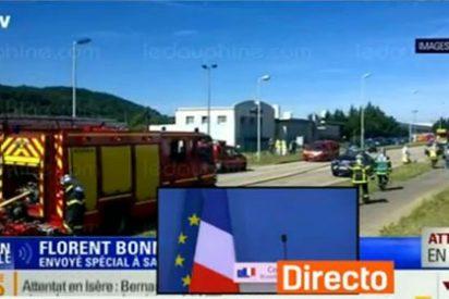 Una persona decapitada en un ataque islamista en el este de Francia
