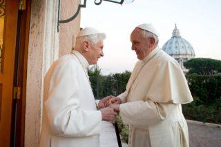 Francisco visita a Benedicto